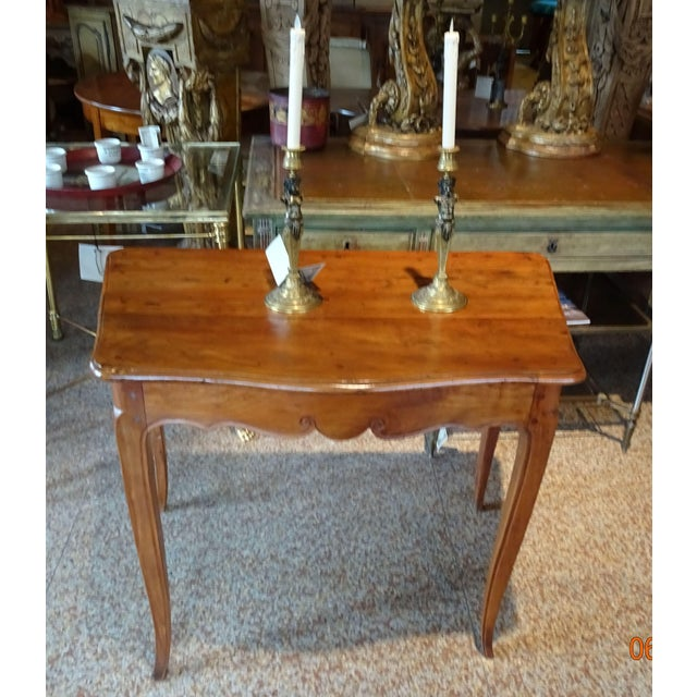 18th Century French Walnut Table For Sale - Image 12 of 13