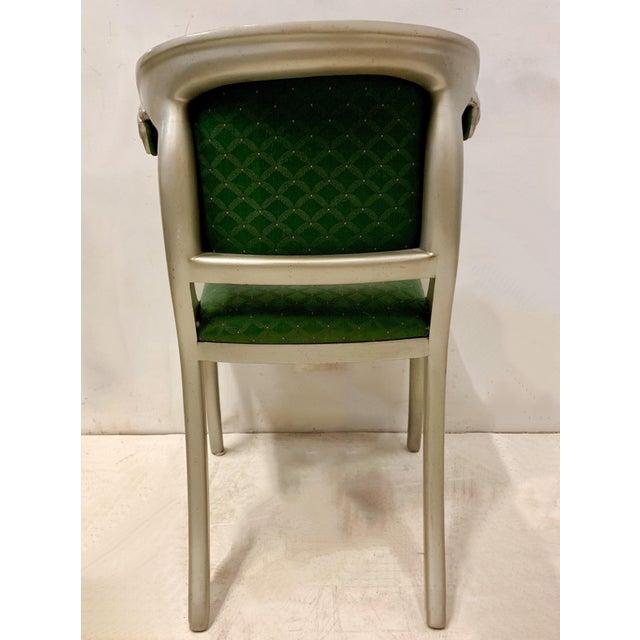Casa Stradivari Set of 8 Casa Stradivari Neo-Classical Klismos Dining Chairs For Sale - Image 4 of 12