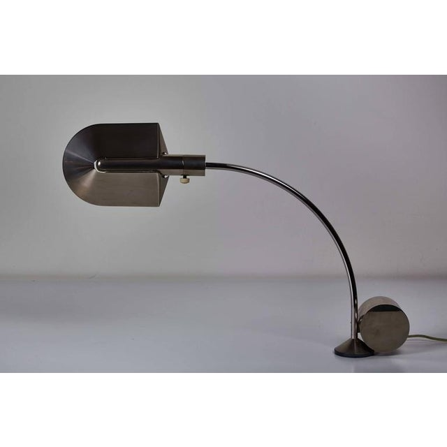 Early Period Chrome Table Lamp by Cedric Hartman - Image 5 of 7