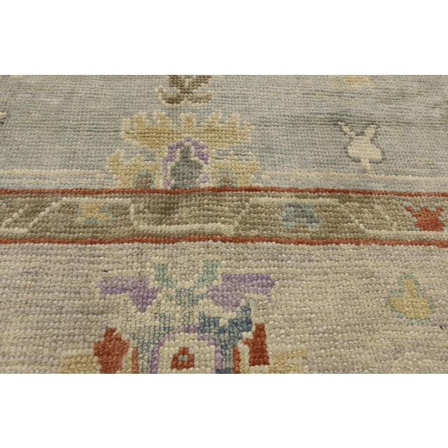 """Contemporary Turkish Oushak Rug - 8'00"""" X 10'04"""" For Sale - Image 4 of 9"""