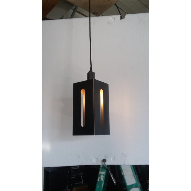 Mission Lantern Pendant Light For Sale - Image 5 of 5