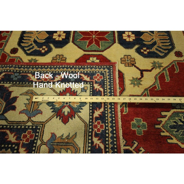 Traditional Super Kazak Rug Red- 8' x 11' - Image 11 of 11