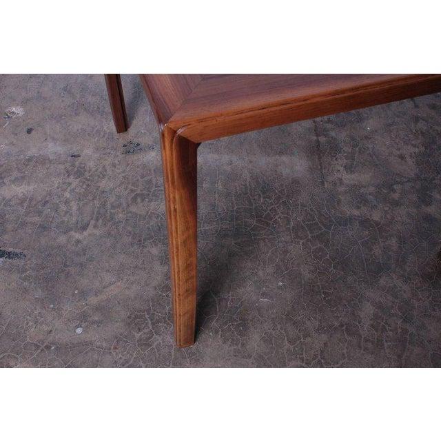 Dunbar Berne Edward Wormley for Dunbar Game Table with Natzler Tiles For Sale - Image 4 of 11