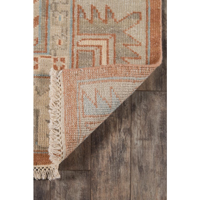 """2010s Erin Gates Concord Walden Rust Hand Knotted Wool Area Rug 5'6"""" X 8'6"""" For Sale - Image 5 of 8"""