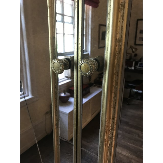 Neiman Marcus Mirrored Armoire For Sale - Image 4 of 7