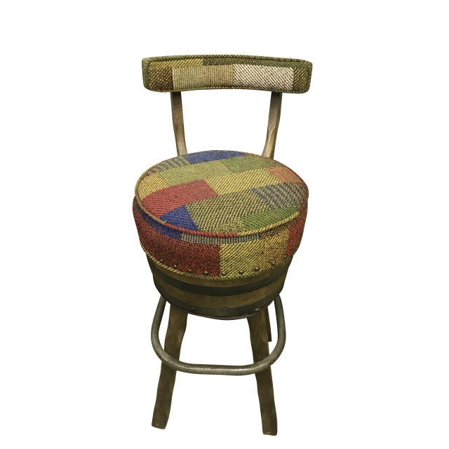 1960s Mid Century Bar Stools - Set of 3 For Sale - Image 5 of 6