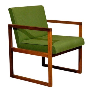 Mid-Century Teak Armchair For Sale