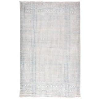 Antique Indian Cotton Flat-Weave Carpet For Sale