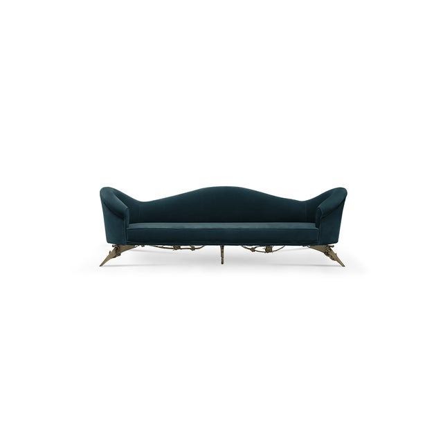 Animal Skin Collete II Sofa From Covet Paris For Sale - Image 7 of 9