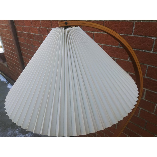 Vintage Danish Modern Bentwood Mads Caprani Floor Lamp For Sale - Image 9 of 13