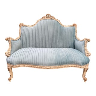 French Louis XVI Style Settee For Sale