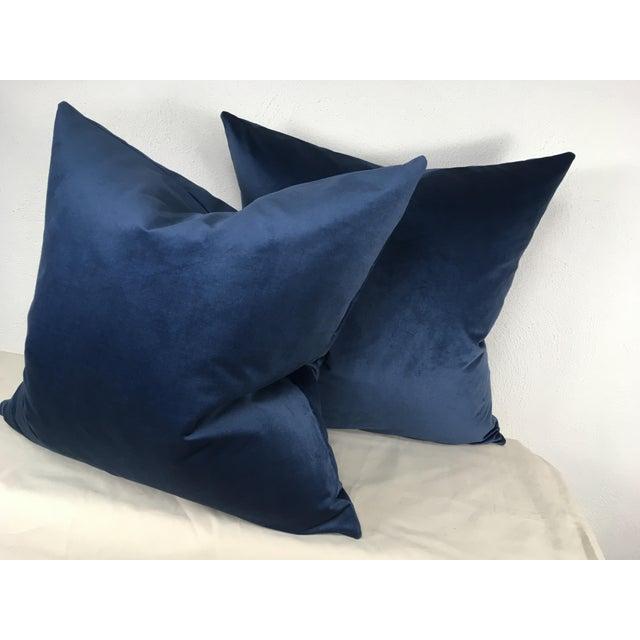 Ralph Lauren Ralph Lauren Velvet Pillows - A Pair For Sale - Image 4 of 6