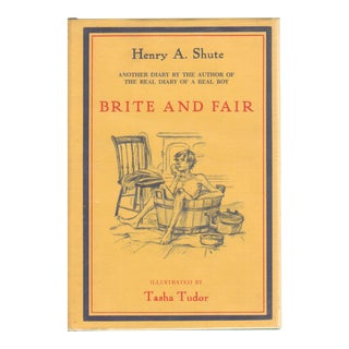 """1968 """"Brite and Fair: A Sequel to the Real Diary of a Real Boy"""" Collectible Book For Sale"""