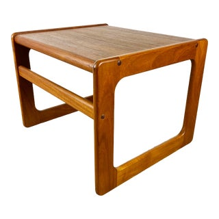 Danish Modern Teak Side Table For Sale