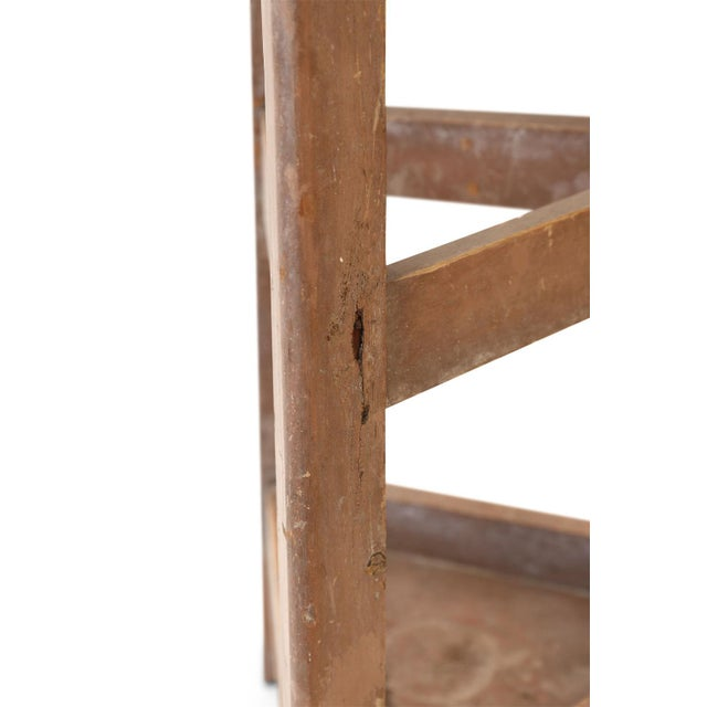 Tall French Sculpture Stand For Sale - Image 11 of 13