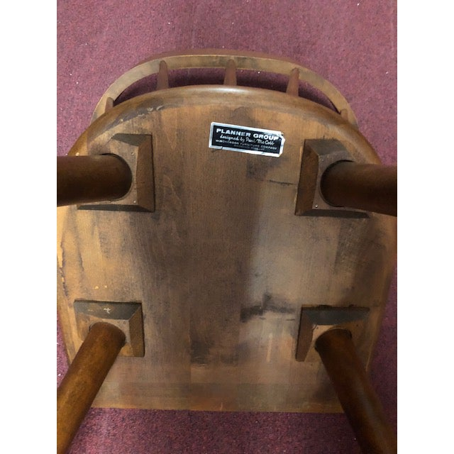 Planner Group 1960s Paul McCobb for Planner Group Chair For Sale - Image 4 of 7