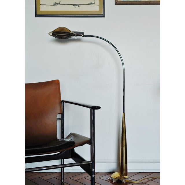 Vintage Modern 91co Adjustable Floor Lamp by Cedric Hartman For Sale - Image 10 of 11
