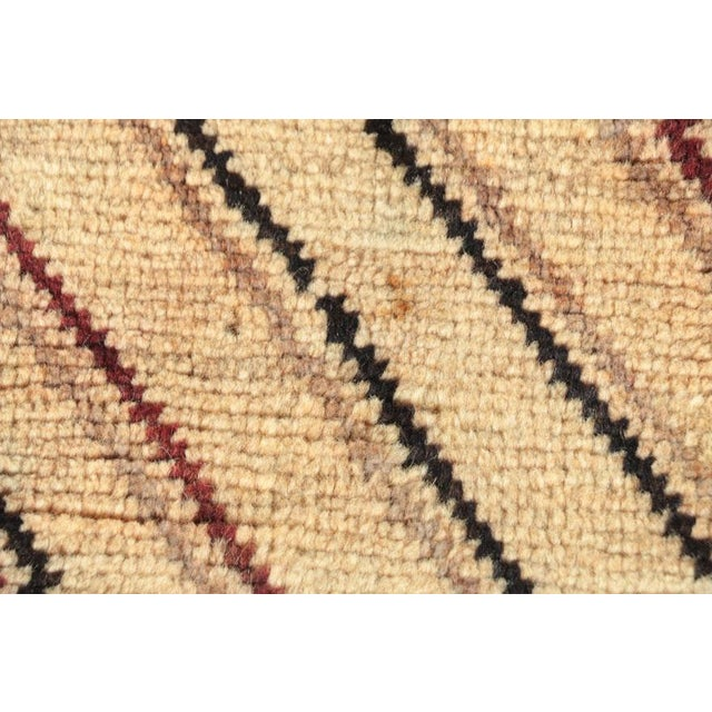 Late 20th Century Hand-Knotted Persian Gabbeh Rug - 3′2″ × 6′8″ For Sale In Washington DC - Image 6 of 8