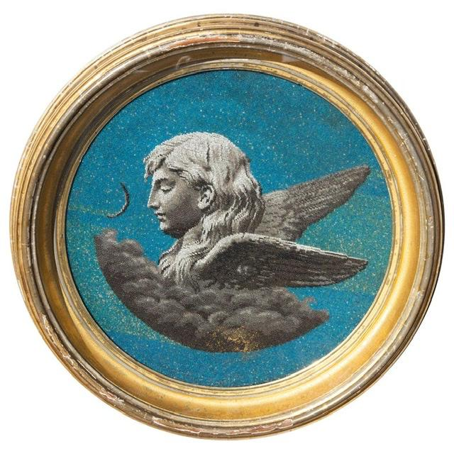 Mid 19th Century 19th Century Classical Allegory of Evening For Sale - Image 5 of 5