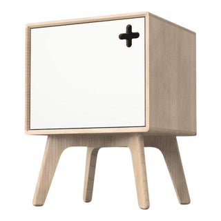 Scandinavian Modern Record Player Stand For Sale