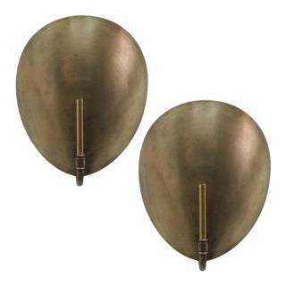 Brass Shell Wall Lights