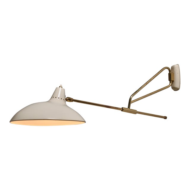 Kaiser Model 6777 Swiveling Wall Lamp, Germany For Sale