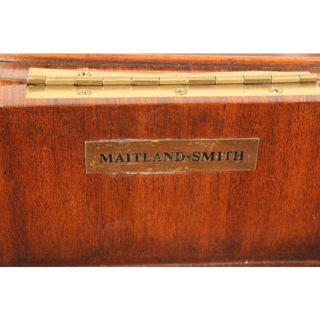 Maitland Smith Burl Walnut Box For Sale - Image 9 of 10
