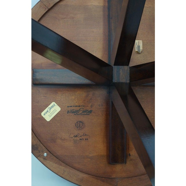 Vintage Lucien Rollin for Switzer Center Table Art Deco Revival For Sale In West Palm - Image 6 of 12