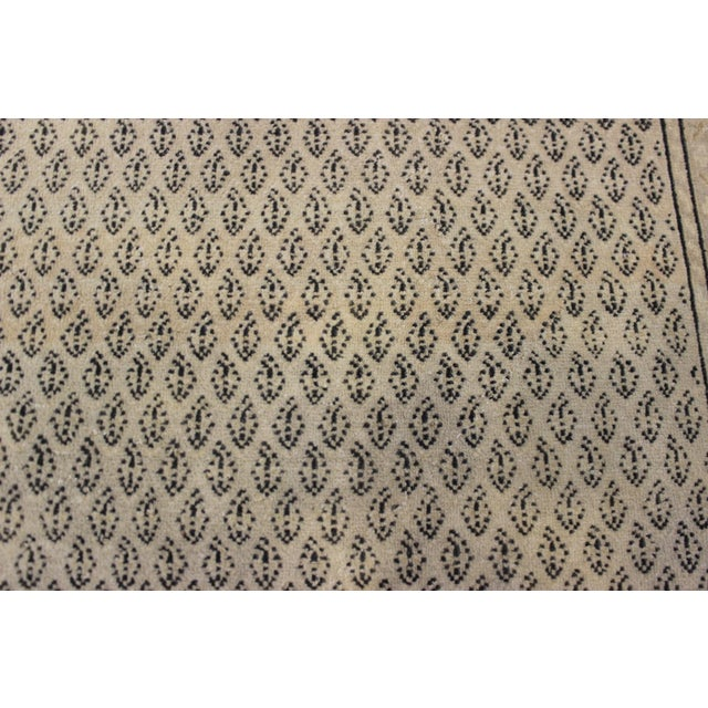Tan Vintage Hand-Woven Overdyed Rug - 6′2″ × 9′2″ - Image 5 of 9