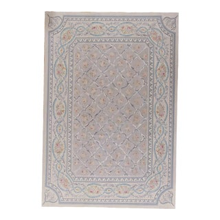 """Pasargad Aubusson Hand Woven Wool Rug - 9' 9"""" X 14' 3"""""""