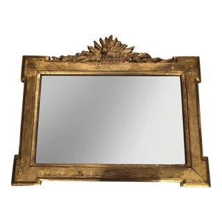 French Gilt Sheep Mirror