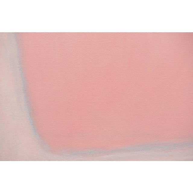 """Canvas """"You and Me"""" Large Contemporary Abstract Painting by Stephen Remick For Sale - Image 7 of 12"""