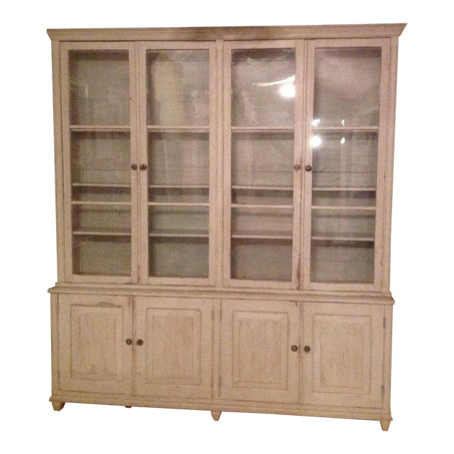 Gustavian Book Case Cabinet - Image 1 of 7