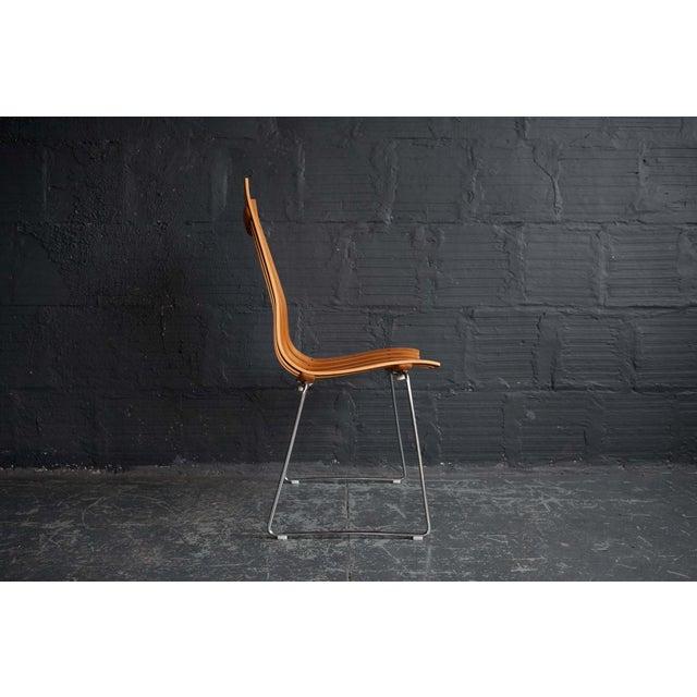 Hans Brattrud Hans Brattrud Scandia Chairs - Pair For Sale - Image 4 of 9