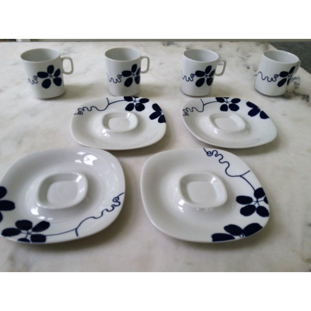 Mid-Century China Langenthal Cups & Saucers For Sale - Image 5 of 9