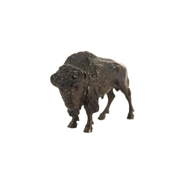"Austrian Bronze 5"" Buffalo - Image 2 of 9"