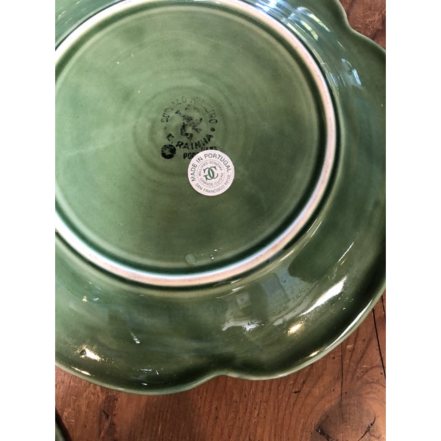 Majolica Bordalo Pinheiro Plates - Set of Four For Sale In Santa Fe - Image 6 of 9
