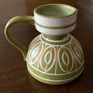 Mid Century Italian Pottery Pitcher - Signed Preview