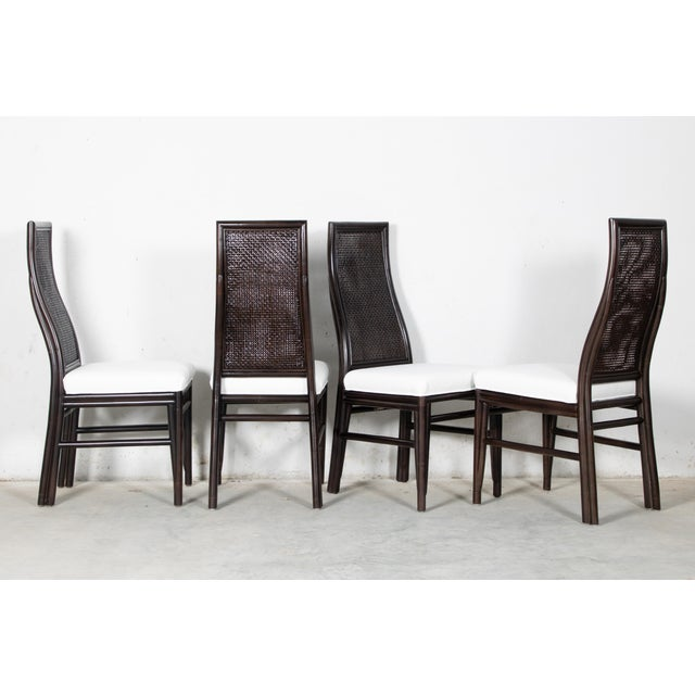 2010s David Francis Kenya Dining Side Chairs- Set of 4 For Sale - Image 5 of 7