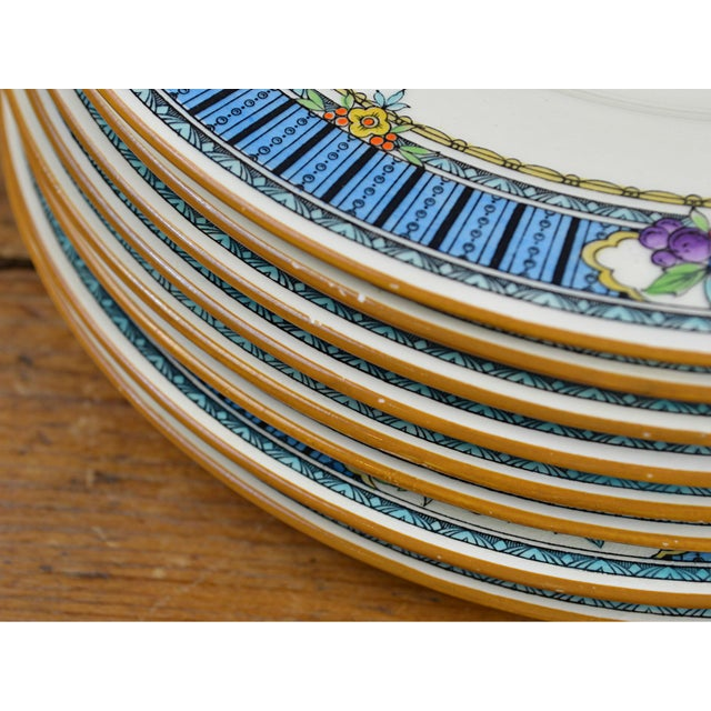 Vintage Minton Luncheon Plates - Set of 8 - Image 7 of 11