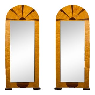 Pair of Swedish Art Deco Mirrors, Early 20th C For Sale