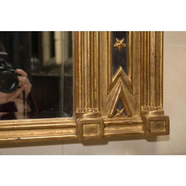 Pair of Regency Giltwood and Ebonized Wall Mirrors - Image 5 of 7