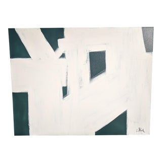 Large Scale Minimalist Abstract Acrylic Painting For Sale