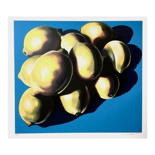 Lowell Nesbitt 10 Lemons 1979 For Sale