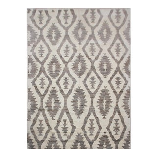 """Aara Rugs Inc. Hand Knotted Navajo Style Rug - 8'10"""" X 5'10"""" For Sale"""