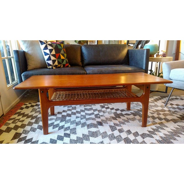 Danish 1960s Solid Teak Coffee Table by Trioh - Image 3 of 7