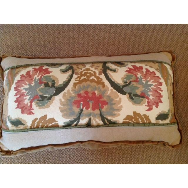 Custom Designed Lumbar Pillows - Pair - Image 4 of 8