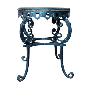 Napoleon III Circular Iron Table For Sale