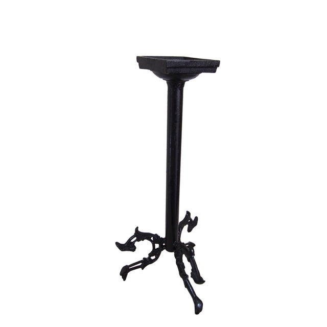 Modern Wrought Iron Candle Holder For Sale - Image 9 of 9