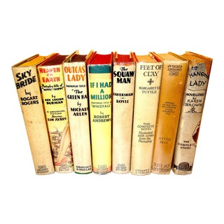 Photoplay Edition Set of 8, Movie Tie-In Books From Major Studios, Circa Early 20th Century For Sale